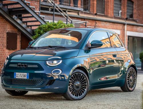 Der neue FIAT 500 Elektro.